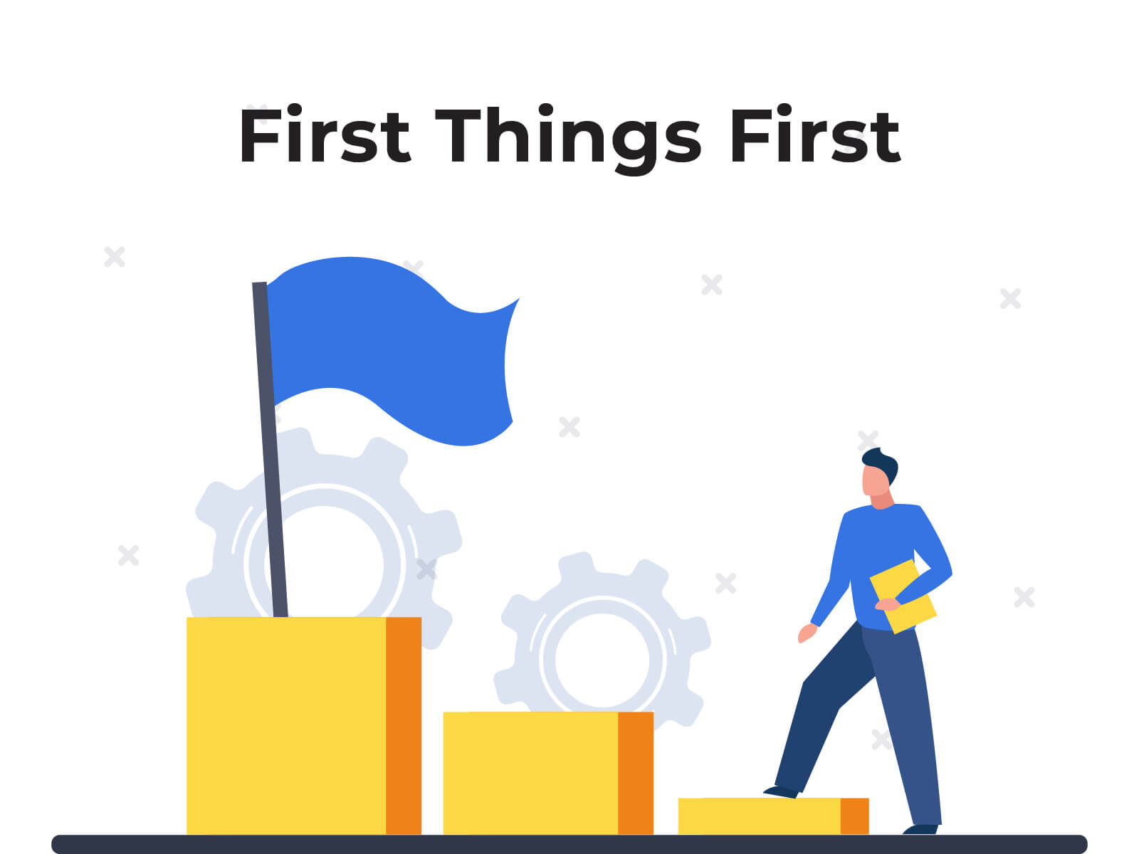 First Things First - google shopping feed creation