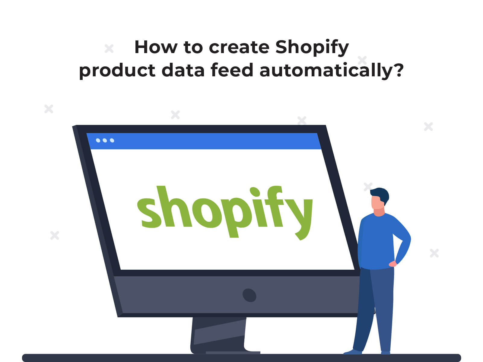 How to create Shopify product data feed automatically