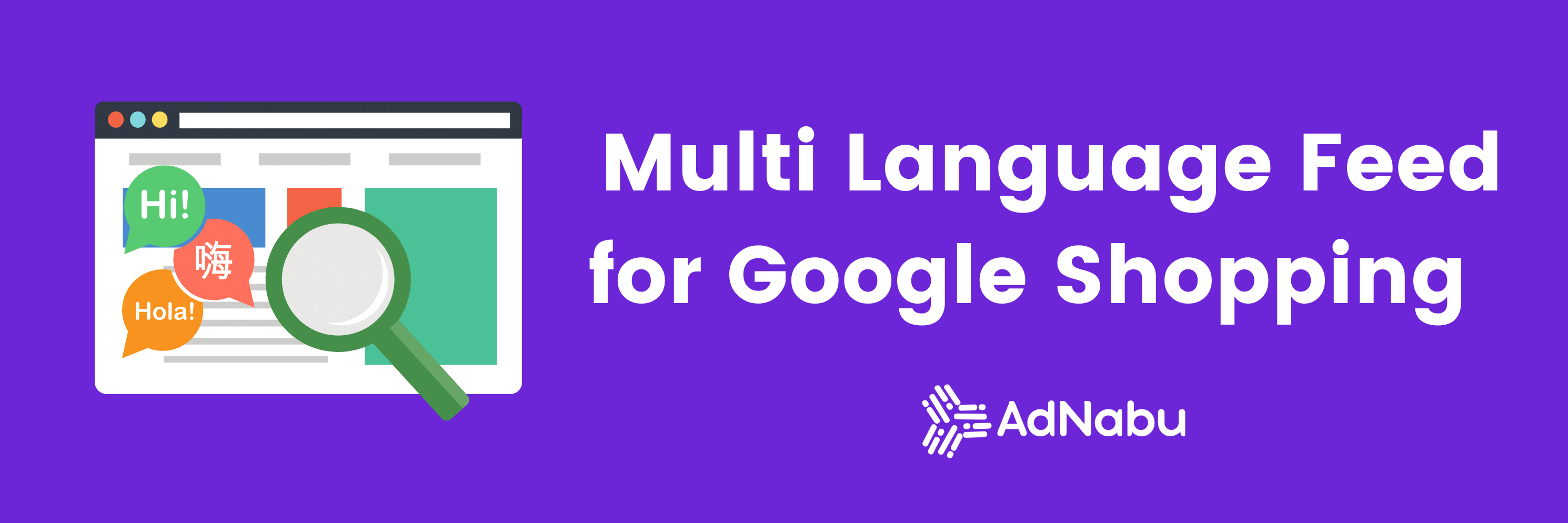 Multi language feed for google shopping