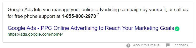 Ways to get support from Google Ads Team through call usa